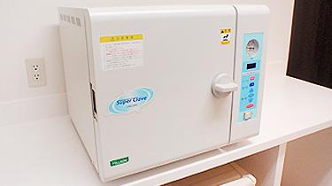 高熱高圧滅菌機