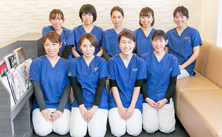 くげぬま海岸歯科クリニック スッタフ写真