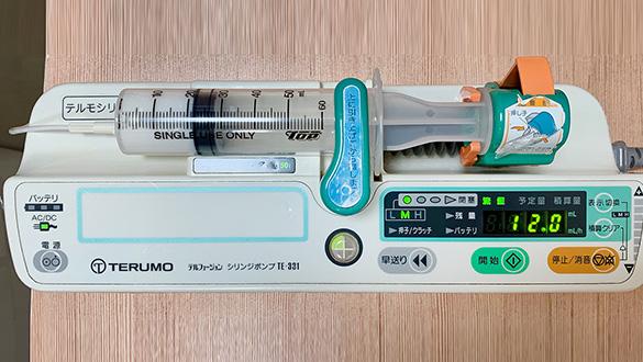 麻酔専用の機械